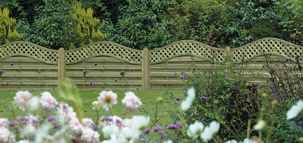 Easter Garden Double sided fence panels | Challenge Fencing Blog