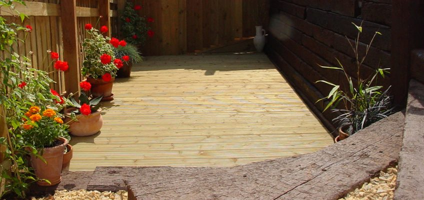 Sleepers Decking and Fencing