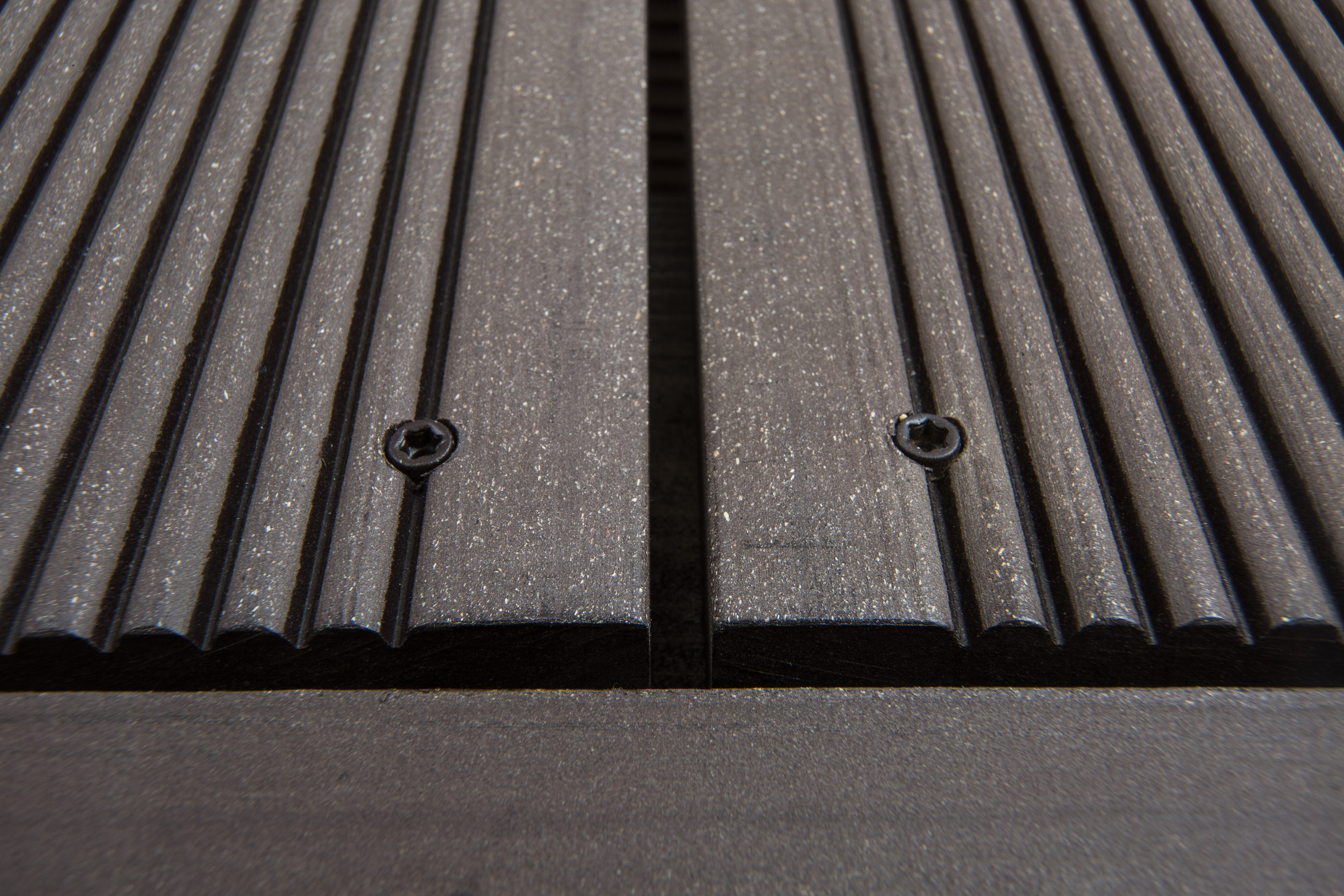 Brown decking