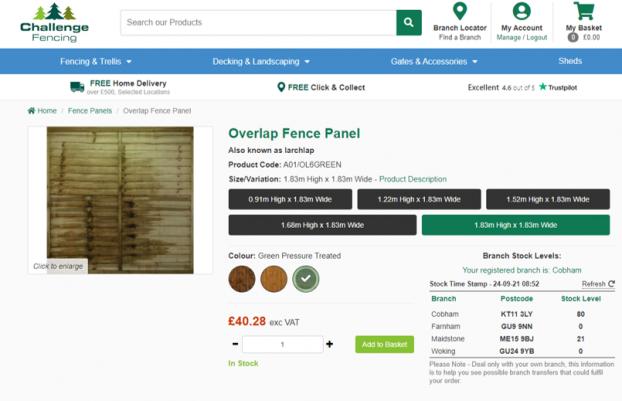 fencing panels in surrey